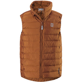 Reima Fauna Down Vest Kids cinnamon brown